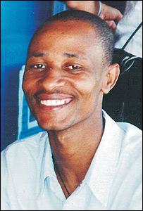 Oziel, enfermo de VIH de Sud�frica