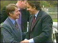 Tony Blair and Alun Michael