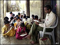 Small school in India