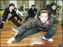 Hip-hop dance lessons in Shanghai