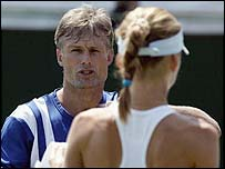 Nigel Sears and Daniela Hantuchova