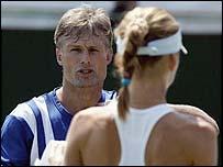 Nigel Sears and Daniela Hantuchova