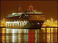 Aurora in Southampton