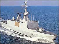 La Fayette class frigate (Photo:Naval-Technology)