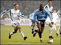 Man City striker Nicolas Anelka