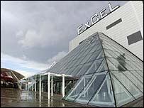 The ExCel Centre in Docklands