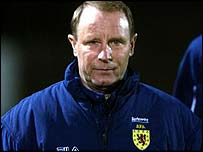 Scotland manager Berti Vogts