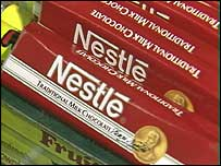 Nestl� chocolate bars