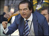 Spanish Sports Minister Juan Antonio Gomez-Angulo