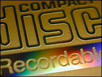 Recordable CD label, BBC