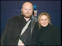 Steve McFadden and Lucy Benjamin