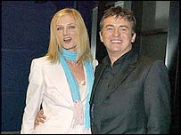 Joely Richardson and Shane Richie