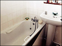 Ian Huntley's bathroom