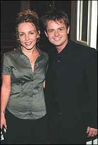 Clare Buckfield and Declan Donnelly