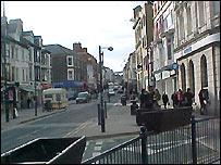Aberystwyth street scene