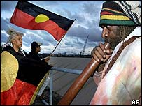 Aborigines and Torres Strait Islanders make up 2% of the Australian population