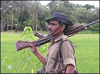 Indian border guard