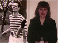 Michael Samms and Julie Dart