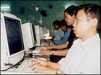 Worker at Digital Divide Data