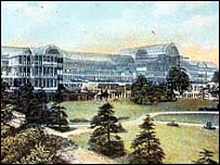 The original building at Crystal Palace