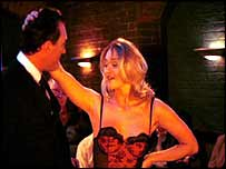 Stripper (scene from BBC drama)