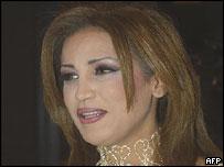 Tunisian singer Zikra