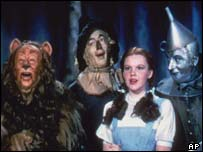 Still from The Wizard of Oz, AP