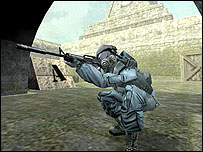 Screenshot of Counter-Strike on Xbox