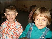 Ukrainian children
