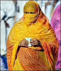Mauritanian voter