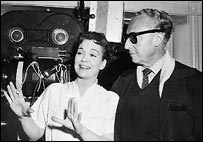 With director, Douglas Sirk