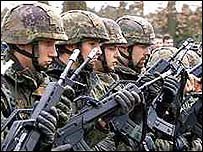 Nato troops