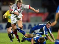 Roger Wilson helped Ulster claim a comprehensive victory
