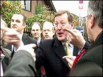 David Trimble, primer ministro nor-irlandés