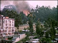 Addis Ababa captured by rebels in 1991