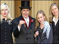 Jools Holland and family