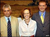 Dyrk Hesshaimer, Astrid Bouteuil and David Hesshaimer