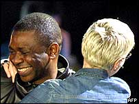 Youssou N'Dour and Annie Lennox