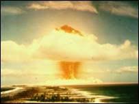 Explosion cloud