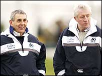 Ian McGeechan (left) and Jim Telfer