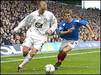 Leeds midfielder Seth Johnson