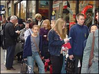 Queue outside Waterstone's for Philip Pullman book-signing