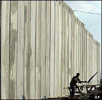 Israeli security barrier