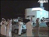 Местные жители близ места взрыва