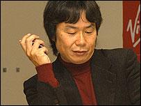 Mario creator Shigeru Miyamoto