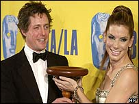Hugh Grant and Sandra Bullock