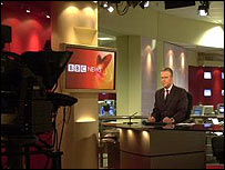 The BBC World set