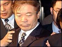 Choi Do-sul under arrest, AP