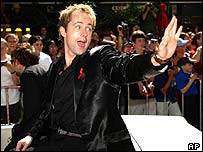 Billy Boyd, who plays Pippin, in Wellington