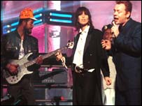 UB40 performing with Chrissie Hynde